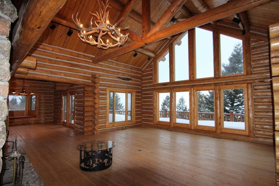 Log Home Teton Valley Idaho